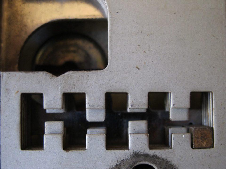Lamelle serratura doppia mappa