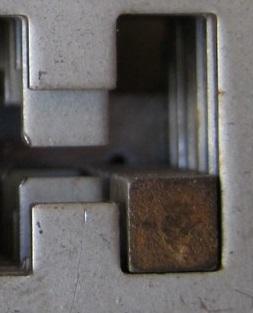 Imperfezione serratura